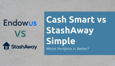 Endowus Cash Smart vs StashAway Simple