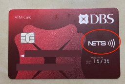 NETS Tap Contactless Card