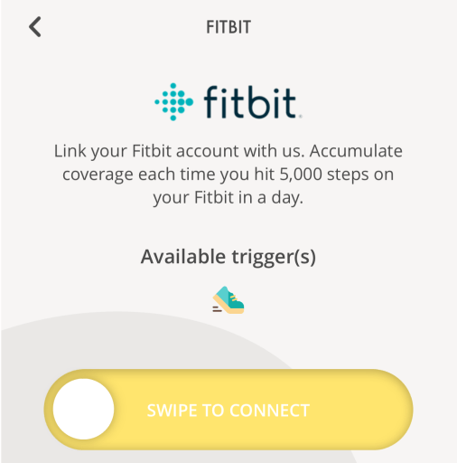 SNACK by Income Fitbit Trigger