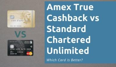 Amex True Cashback vs Standard Chartered Unlimited