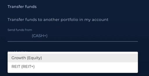 Syfe Cash Transfer To Other Portfolio 3
