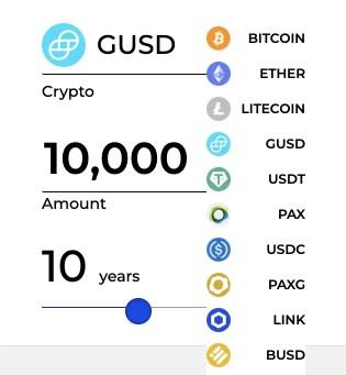 BlockFi Number Of Currencies
