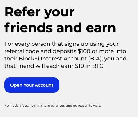 BlockFi Referral