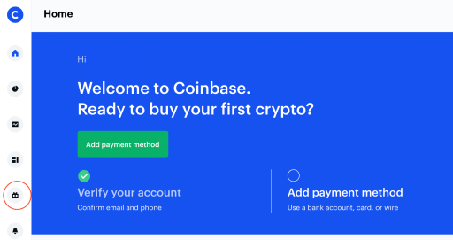 Coinbase Earn Rewards Dashboard