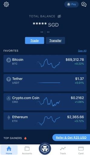 Crypto.com Mobile App