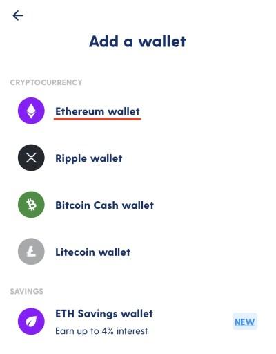 Luno Create Ethereum Wallet