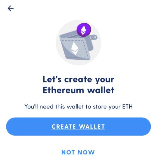 Luno Ethereum Wallet Function