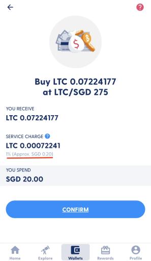 Luno Instant Buy LTC