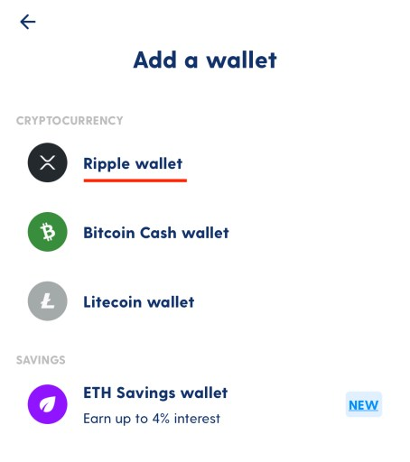 Luno XRP Create Ripple Wallet