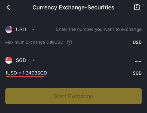 Tiger Brokers USD to SGD vs Moomoo