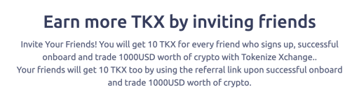 Tokenize Referral