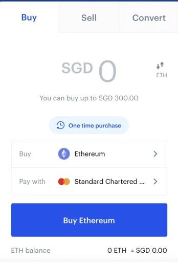 Coinbase Buy ETH