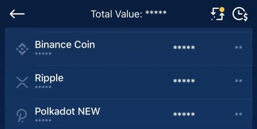 Crypto.com App Find Polkadot