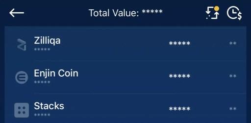 Crypto.com App Select ENJ