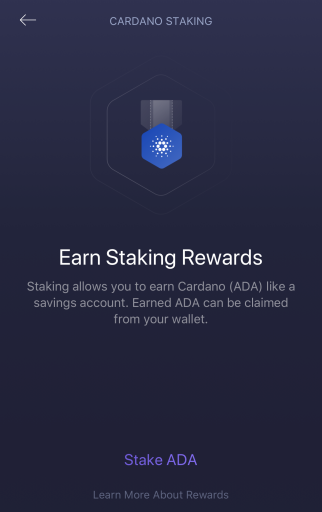 Exodus Wallet Confirm Staking