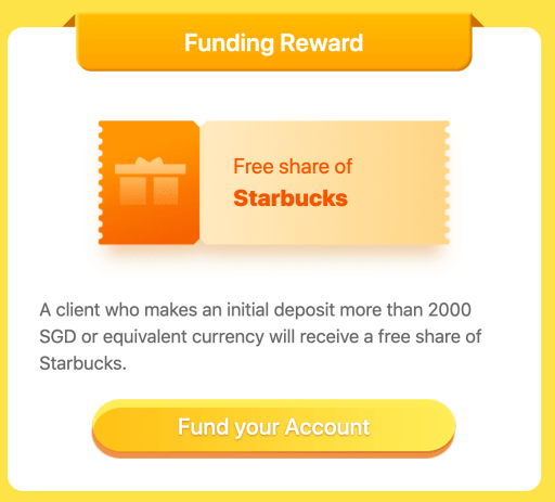 Tiger Brokers Free Starbucks Share