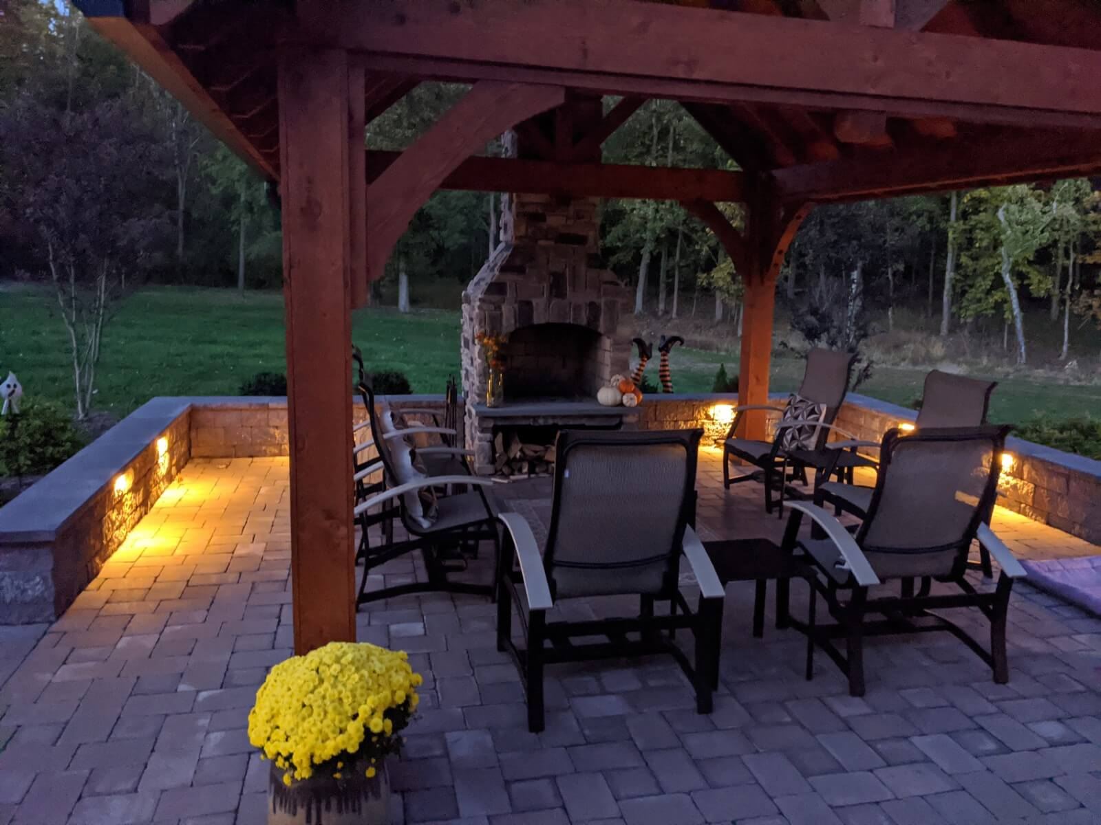 finished outdoor fireplace kits 2020