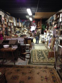 One of my favorite kinds of places... a dusty old bookstore.