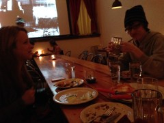 Dinner at Nomad's