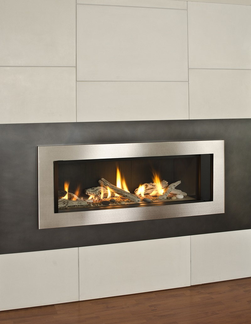 Gas Fireplace Indoor Valor Gas Fireplace - L2 Linear Series Gas Fireplace