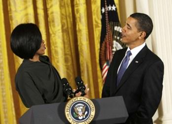 Obamas flirting