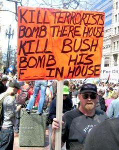 Kill terrorist bush