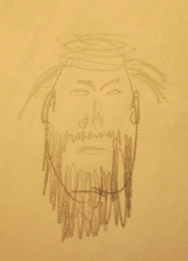 Jesus in Pencil 089