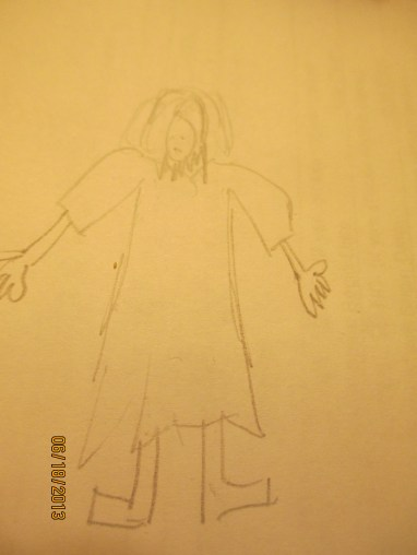 Jesus in pencil 004