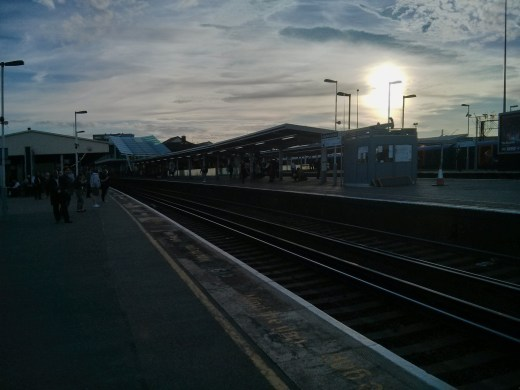 A Train Station - Last Week