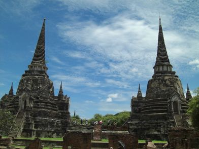 Thailand: Stupas at Ayutthaya Historical Park