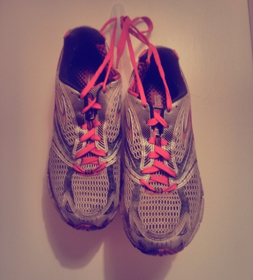 Hanging up the running shoes (for a day or two at least!)