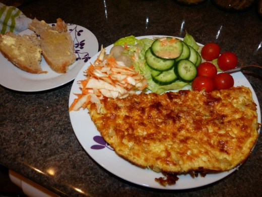 Ultimate Omlette Recipe - The finished masterpiece!