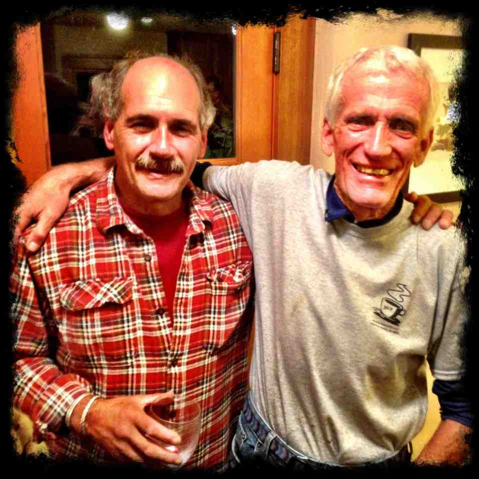 Jack and Jim Donini on Jack's 60th birthday (Photo: Pat Tackle)