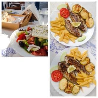 Panorama Hotel Restaurant: Klima, Milos, Greece