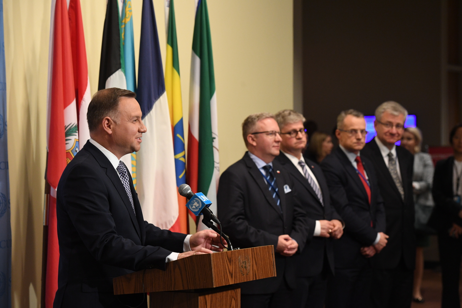 Polish President Chairs Un Security Council Open Debate
