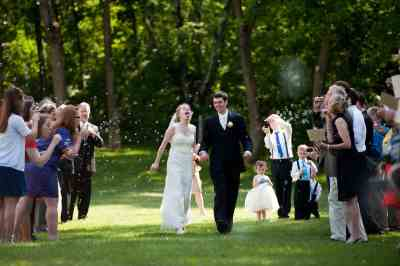 Rustic Wedding Ceremony Decor | The First Year