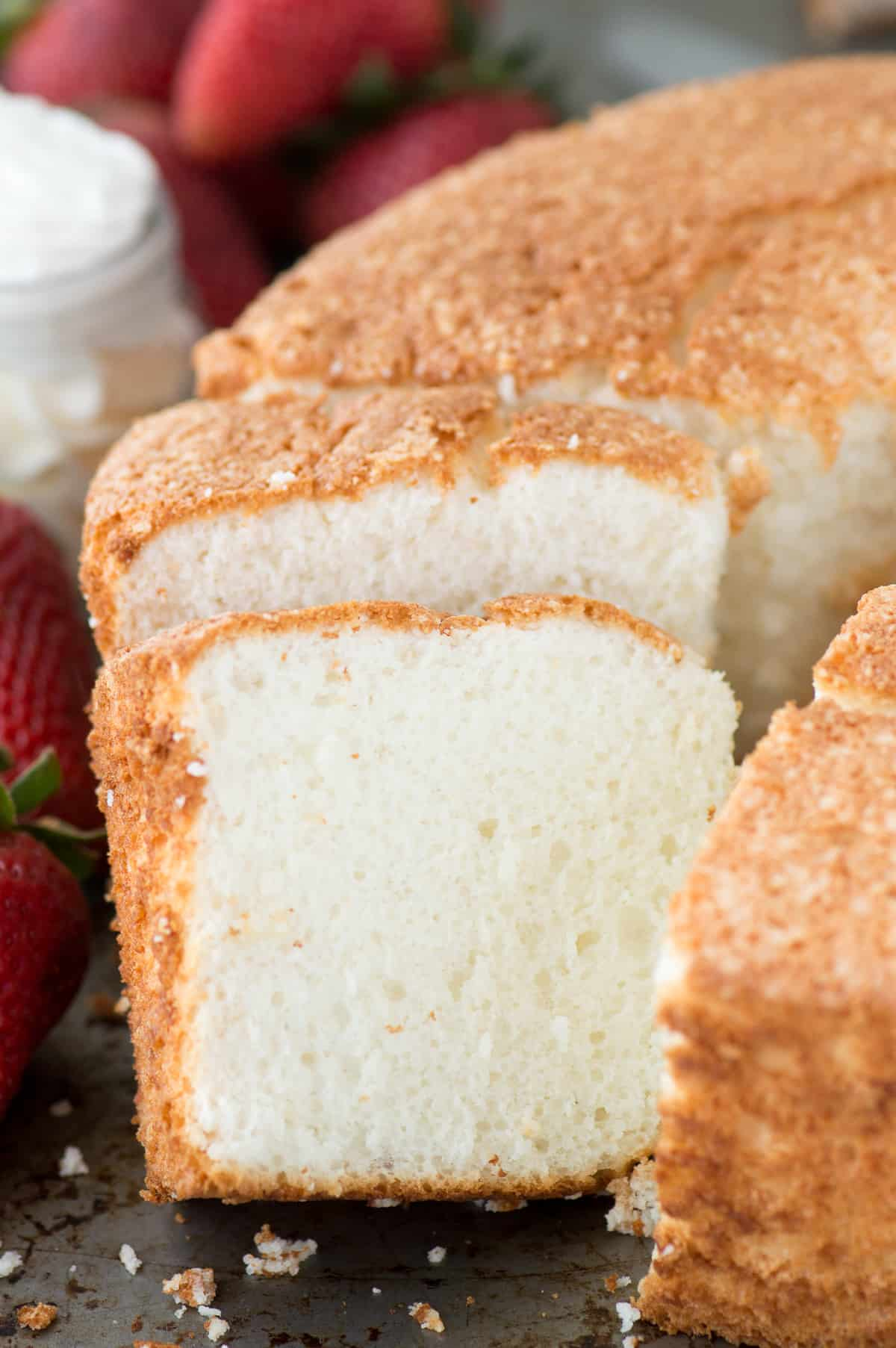 Angel Food Cake The First Year