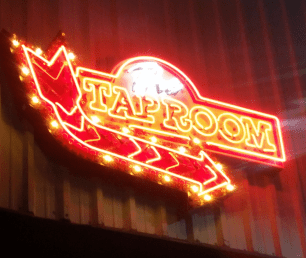 Tap Room Enter Here