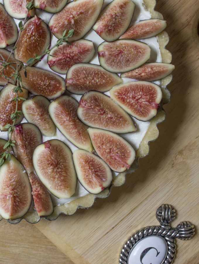 Fig and Goat Cheese Tart