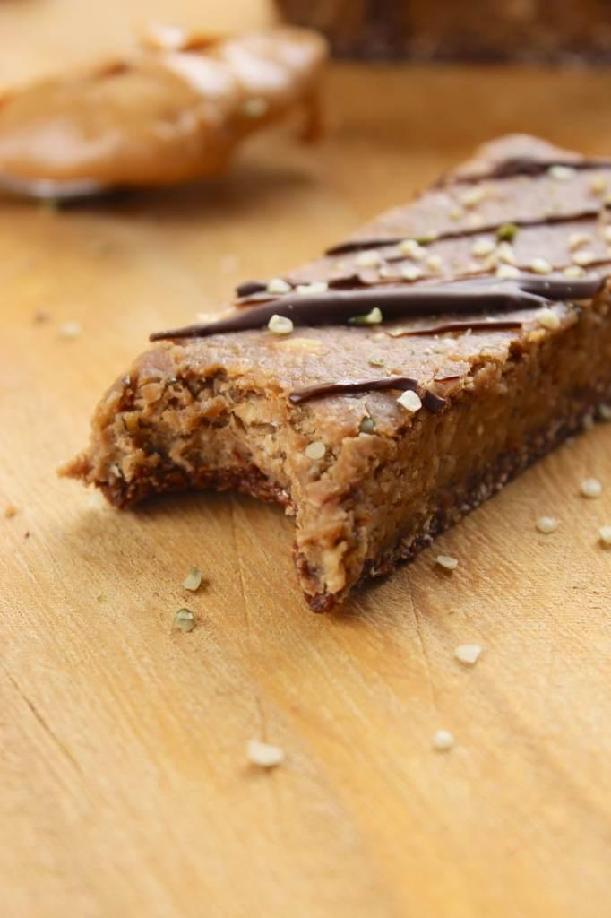 No Bake Gluten Free and Vegan Protein Bars