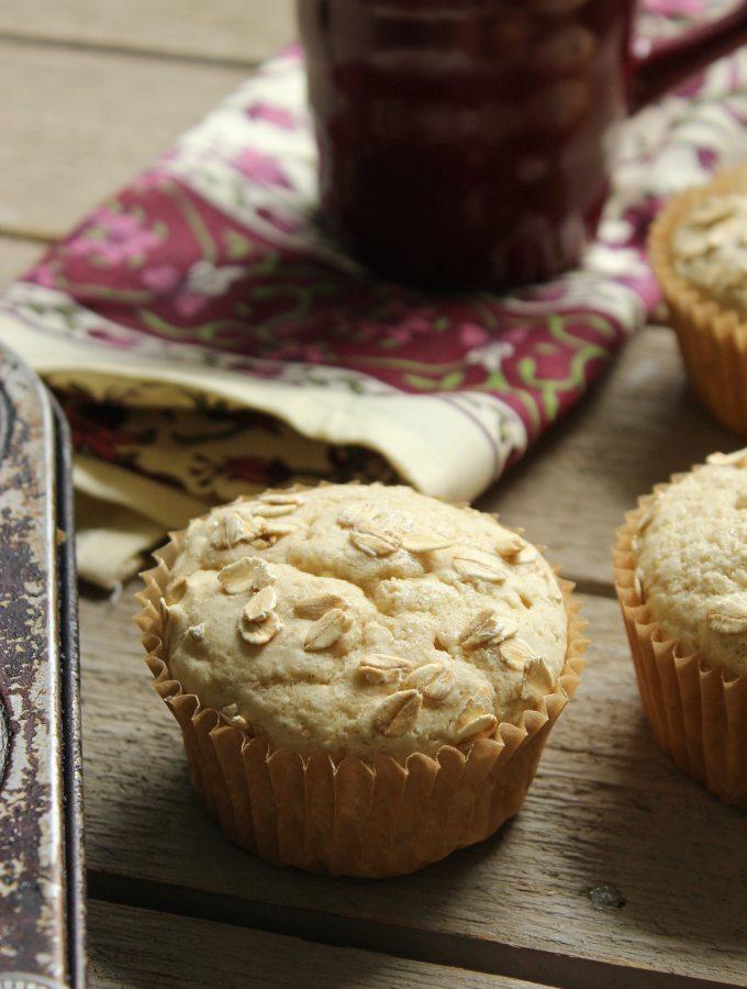 30 Minute Vegan Gluten Free Muffins