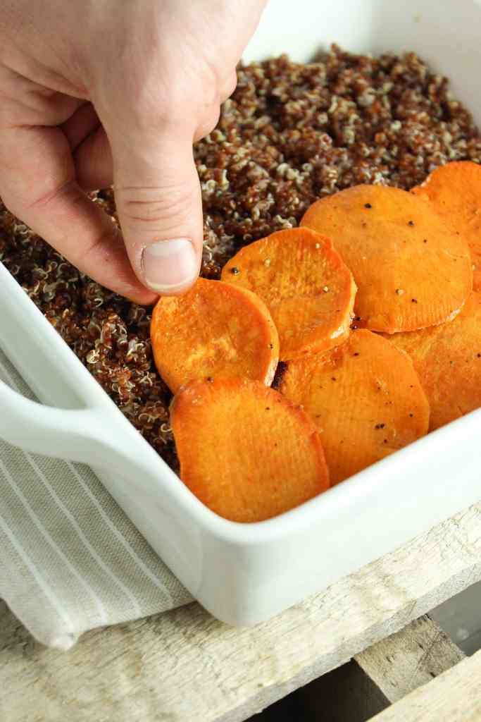 Spicy Vegan Sweet Potato Casserole