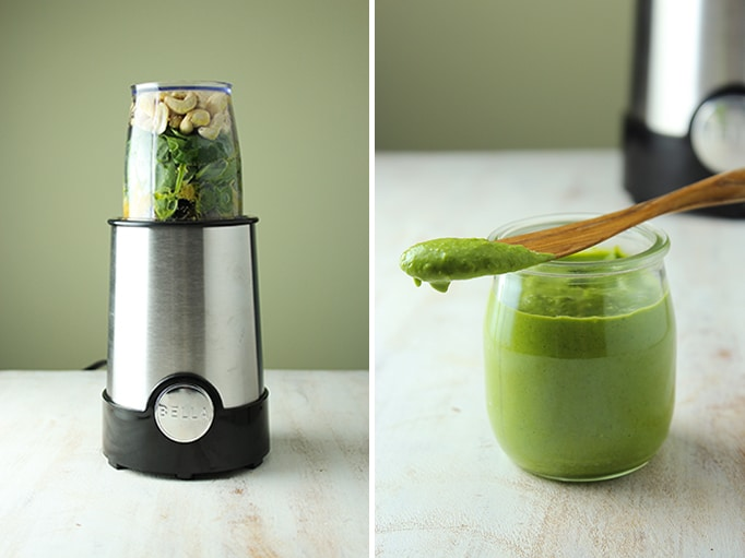 Easy Blender Pesto