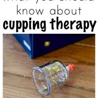 What You Should Know About Cupping Therapy