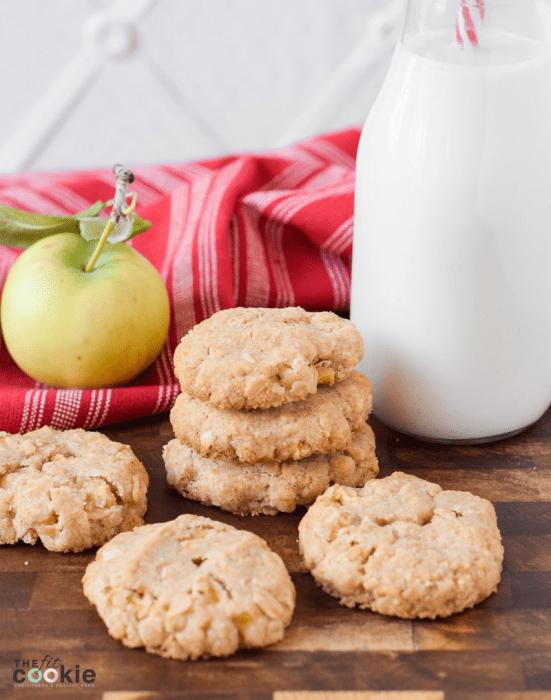 Gluten Free Apple Oatmeal Cookies