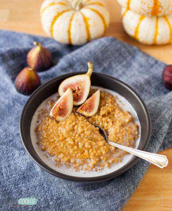 Pumpkin Spice Instant Pot Oatmeal