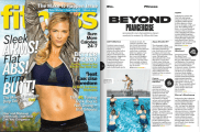 FITNESS Magazine | Workout Feature | February 2014 Issue