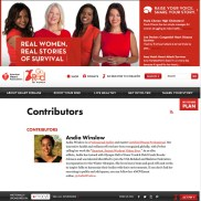 Andia becomes Certified Fitness Contributor for the American Heart Association and the #GoRedForWomen campaign!
