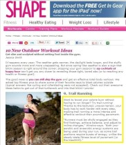 SHAPE Magazine | Expert Advice