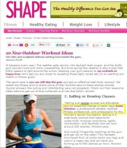 SHAPE Magazine | Expert Advice | March 2012
